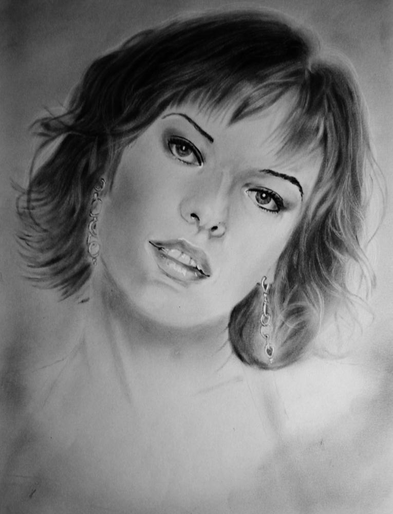 Milla Jovovich par burdge12